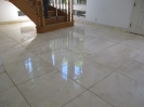Travertine Entrance After Polishing