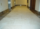 Tumbled Travertine Hall Restoration_2